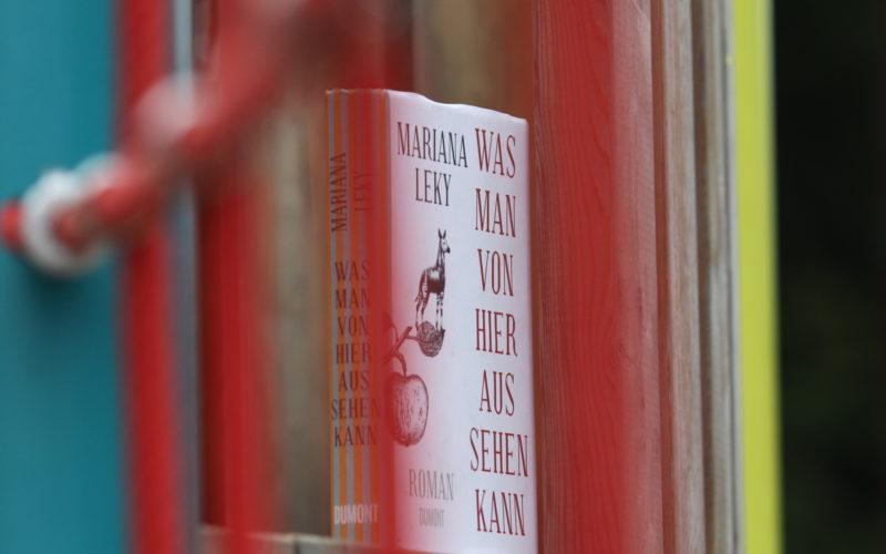 Hier ist ein Foto eines Buchs von der Autorin Mariana Leky