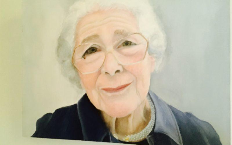 Porträt von Judith Kerr von ihrer Tochter Tacey Kneale